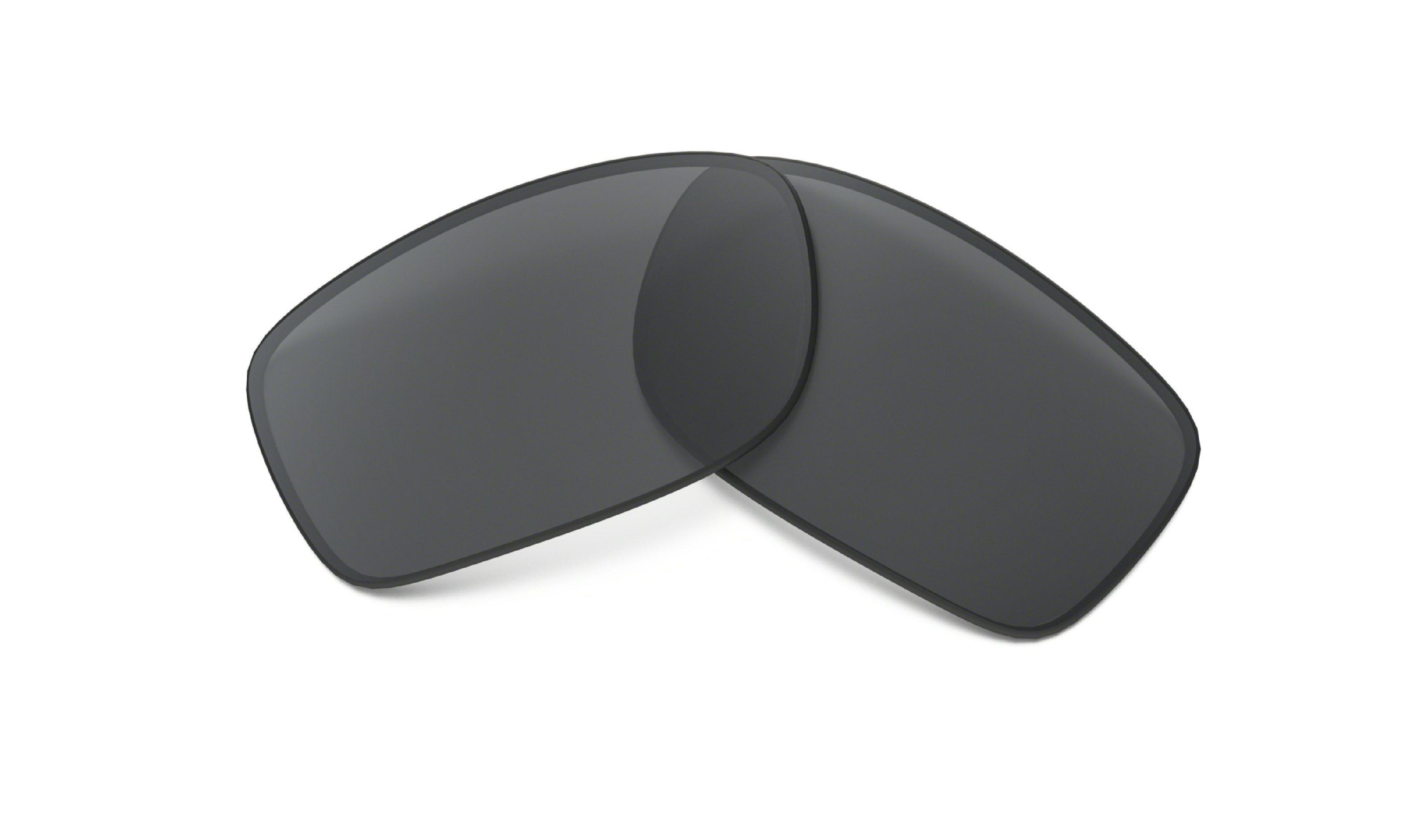 NUR GLÄSER für Modell: 9238 Fives Squared / Glasfarbe: Grau