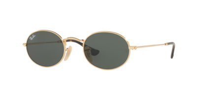 Ray-Ban RB3547N Classic Gold / Green Oval