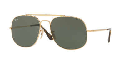 Ray-Ban RB3561 Gold / Green The General