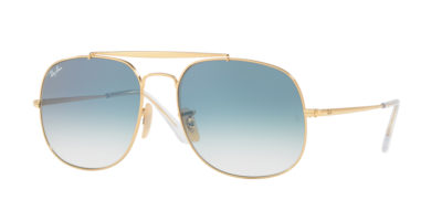 Ray-Ban RB3561 Gold / Blue Gradient The General