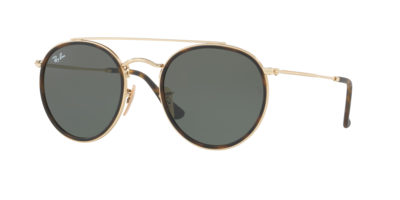 Ray-Ban RB3647-N Gold / Green
