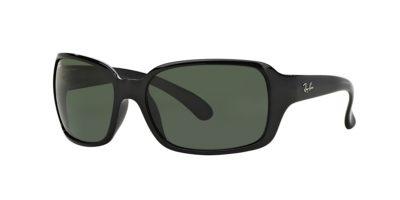 Ray-Ban RB4068 CLASSIC Black / Crystal Green