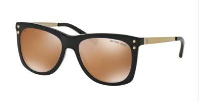 MICHAEL KORS LEX MK2046 Black / Gold Mirror Polarized