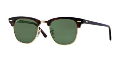Ray-Ban RB3016 Mock Tortoise Arista / Green Clubmaster