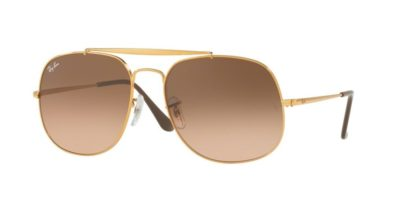 Ray-Ban RB3561 GENERAL Light Bronze / Pink Gradient Brown
