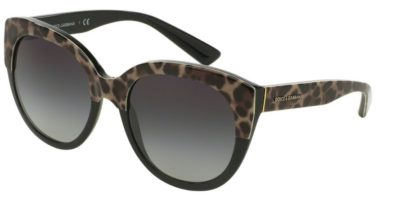 DOLCE & GABBANA DG4259 Top Leo on Black / Grey Gradient