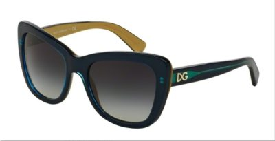 DOLCE & GABBANA DG4260 Top Petroleum on Gold / Grey Gradient