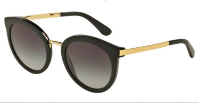 DOLCE & GABBANA DG4268 Black Gold / Grey Gradient