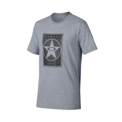 50 KNOCK OUT STAR TEE Athletic Heather Grey