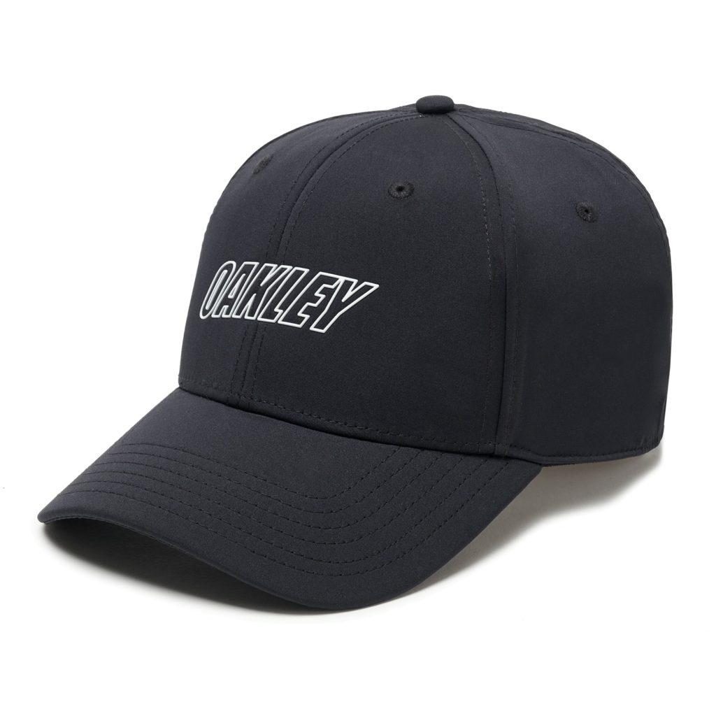 6 PANEL OAKLEY WAVED HAT BLACKOUT