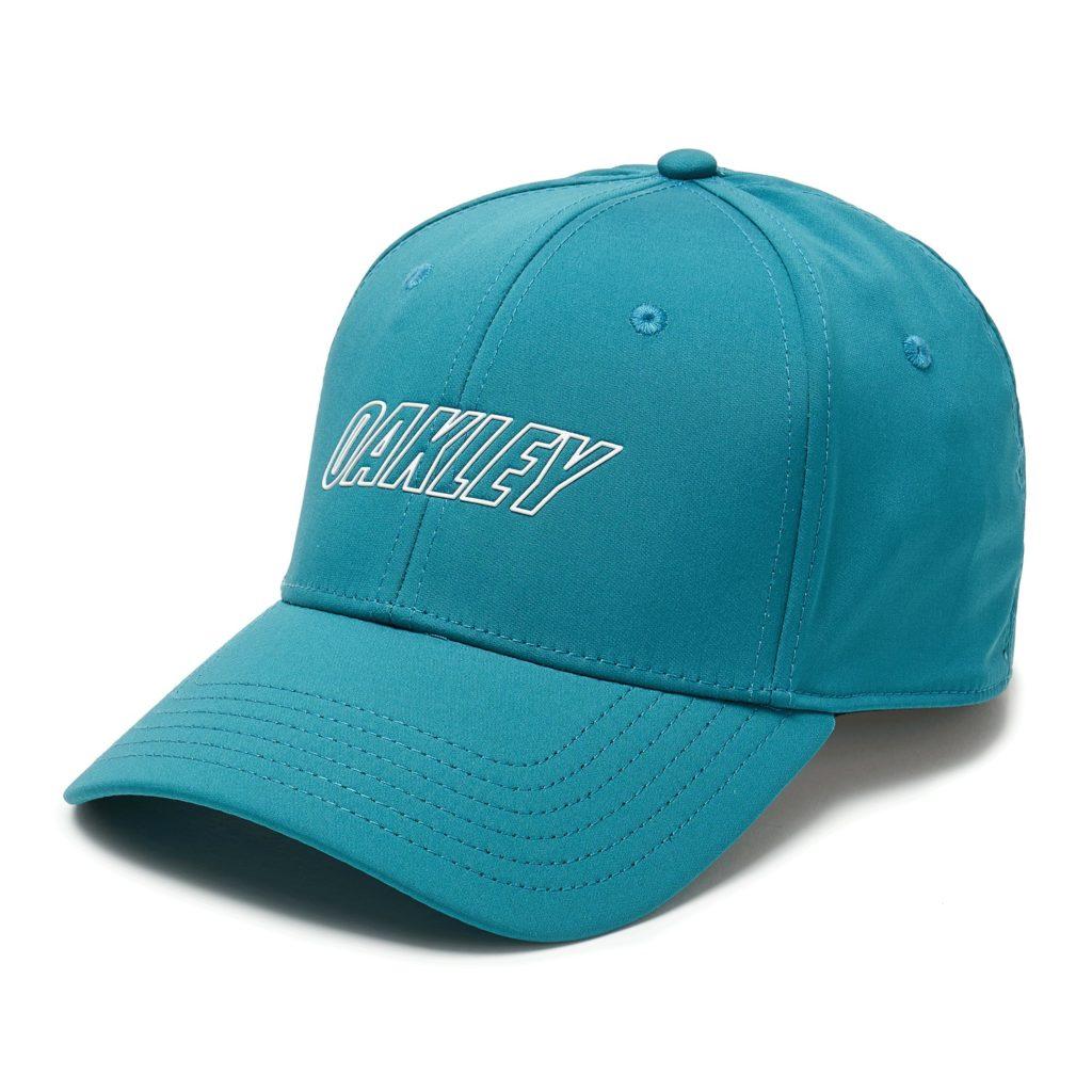 6 PANEL OAKLEY WAVED HAT PETROL