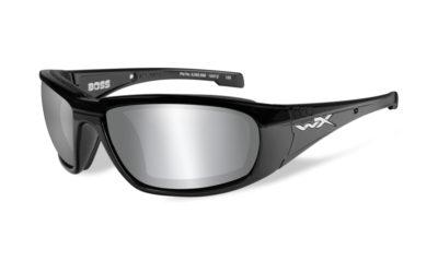 BOSS Gloss Black / Grey Silver Flash