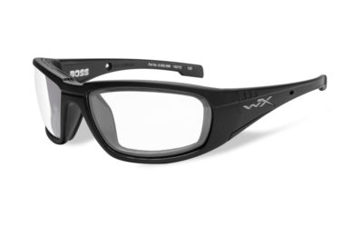 BOSS Matte Black / Clear