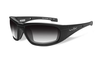 BOSS Matte Black / Light Adjusting Grey lens