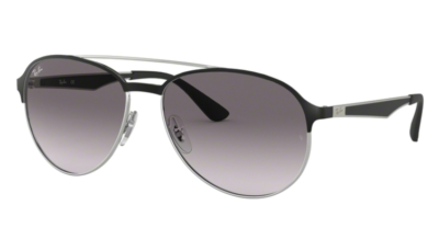 Ray-Ban RB3606 Silver on Top Matte Black