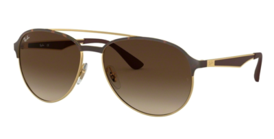 Ray-Ban RB3606 Gold on Top Matte Havana