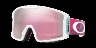 Line Miner™ XM Snow Goggle White - Prizm Snow Hi Pink Iridium