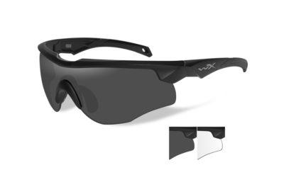 ROGUE Grey+Clear Matte Black Frame
