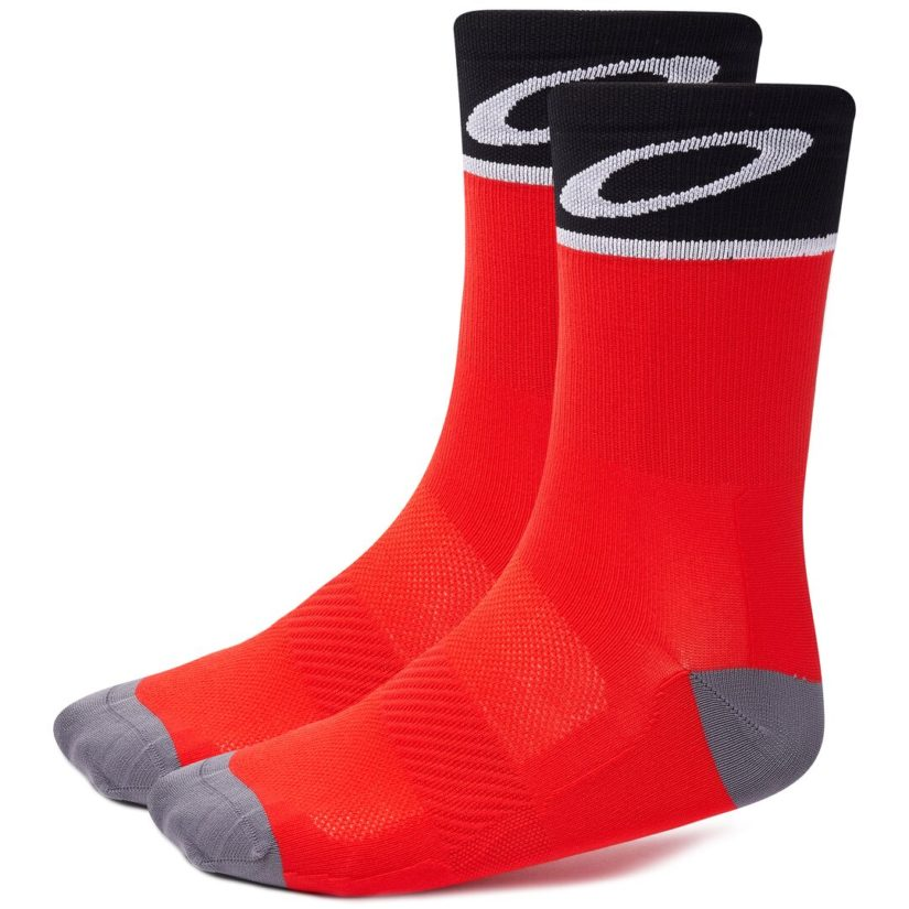 Cycling Socks Red Line