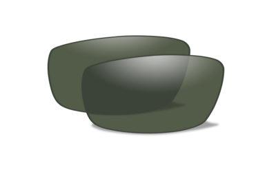 NUR GLÄSER für Modell:  REBEL Polarized Green Extra Lenses