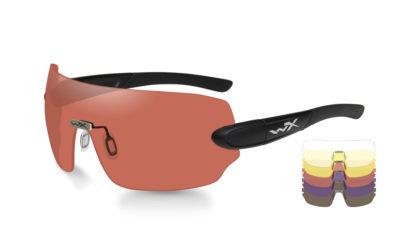 DETECTION Clear+Yellow+Orange+ Purple+Copper Matte Blk. Frame