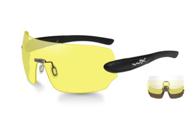 DETECTION Clear+Yellow+Copper Matte Black Frame