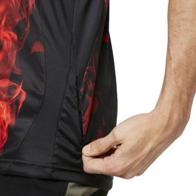 Mtb Short Sleeve Tech Tee Flames *Hydrolix*