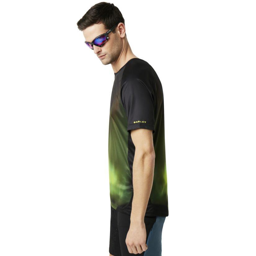 Mtb Short Sleeve Tech Tee Aurora Borealis