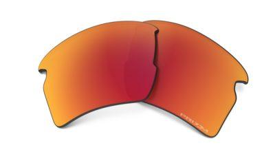 NUR GLÄSER für Modell 9188: Flak 2.0 XL / Glasfarbe: Prizm Ruby