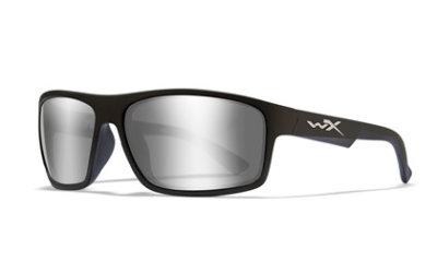 PEAK Grey Silver Flash Gloss Black Frame