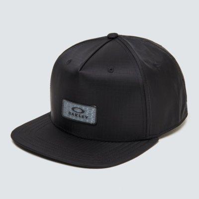 Nylon Hologram Patch Hat Blackout