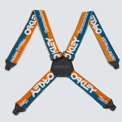 TNP Factory Suspenders Orange/Blue