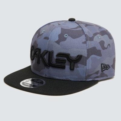B1B Oakley Logo Cap Grey Camo
