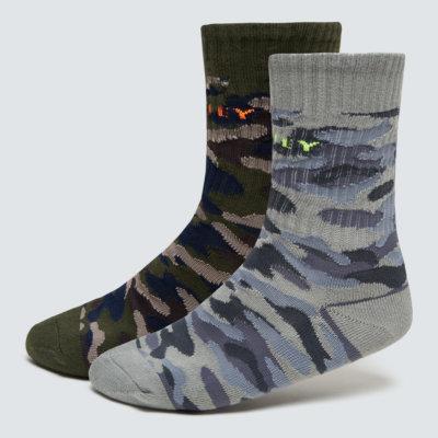 Camo Socks (2PCS) Gray Camo