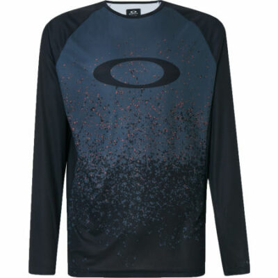 MTB Long Sleeve Tech Tee Grey Pixel Print *Hydrolix*