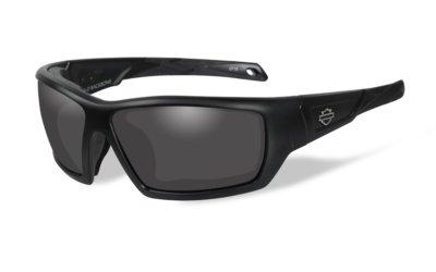 Harley-Davidson BACKBONE Matte Black Smoke Grey