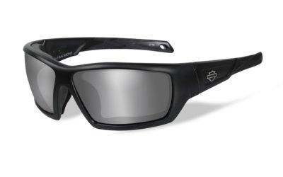 Harley-Davidson BACKBONE Matte Black Grey Silver Flash
