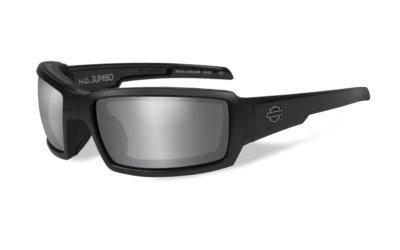 Harley-Davidson JUMBO Matte Black - Black Magic Grey Silver Flash
