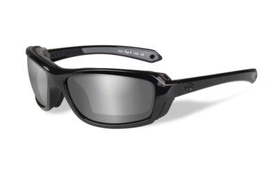 Harley-Davidson RAGE-X Gloss Black Grey Silver Flash