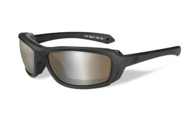 Harley-Davidson RAGE-X Matte Black Copper Silver Flash