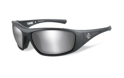 Harley-Davidson TANK Matte Black Grey Silver Flash