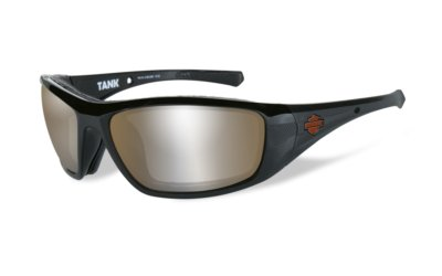 Harley-Davidson TANK Glos Black Copper Silver Flash